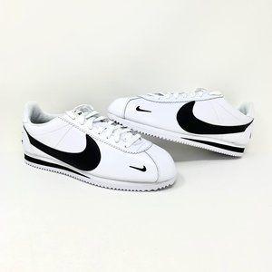"Nike Classic Cortez Premium ""Swoosh"" White/Black"